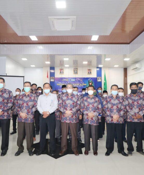 Pelantikan Pengurus Pusat Ikatan Alumni UM Metro Periode 2020-2025