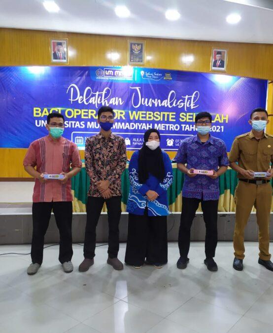 Pelatihan Jurnalistik Universitas Muhammadiyah Metro