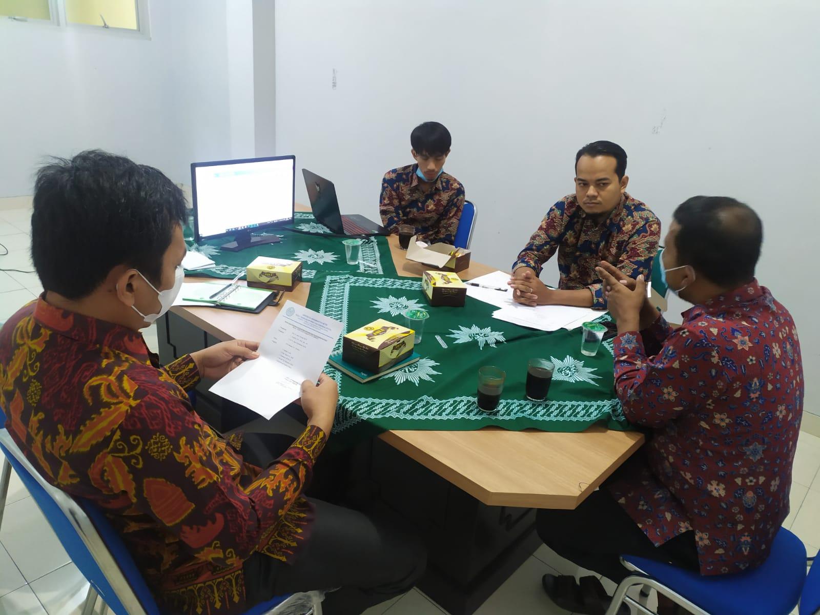 Rapat Koordinasi SIM PPM